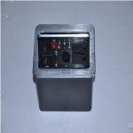 Pneumatic pop-up tabletop socket